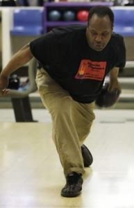 Kolan McConiughey, shown bowling in Ann Arbor, Mich., yesterday, wants to give the president some pointers.