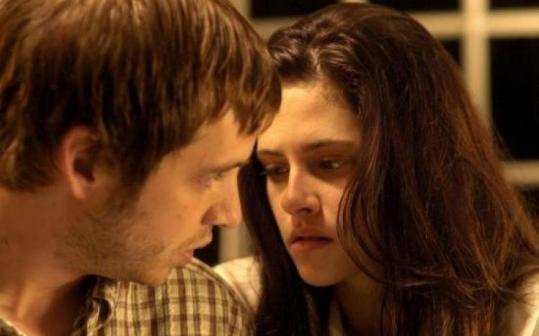 Aaron Stanford and Kristen Stewart in ''The Cake Eaters.''