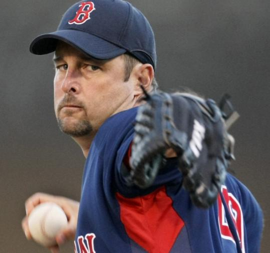 Against the Yankees' prospective Opening Day lineup, Tim Wakefield had his best spring outing: 5 2/3 innings, 4 hits, 1 run.