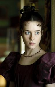 Claire Foy plays Amy Dorrit, the title character in the ''Masterpiece'' miniseries.