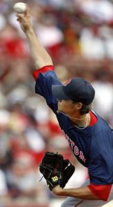 Clay Buchholz allowed three hits in six solid innings.