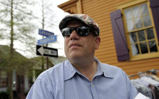 David Simon, creator of ''The Wire'' and ''Homicide: Life on the Street,'' is filming his new series ''Treme'' in New Orleans.