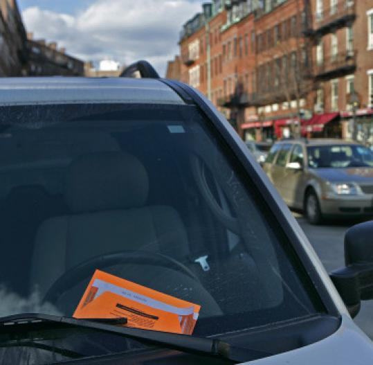 with the proper appeal parking ticket may go away the boston globe