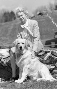 Rachel Page Elliott raised about 50 litters of golden retrievers over four decades and wrote several books about dogs.