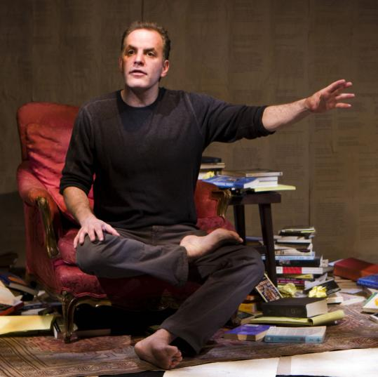 Evan Brenner, creator and star of ''The Buddha,'' tells stories with a peaceful and straightforward delivery.