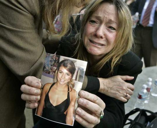 Carmen Bachan, mother of hit-and-run victim Adrianna Bachan, held a picture of her daughter yesterday.
