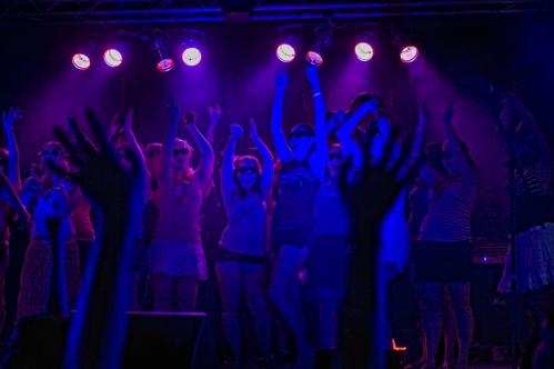 Participants rushed the stage at the charity event. More about the Dance Marathon SUBMIT Your nightlife photos! TALK What scene should we visit next?