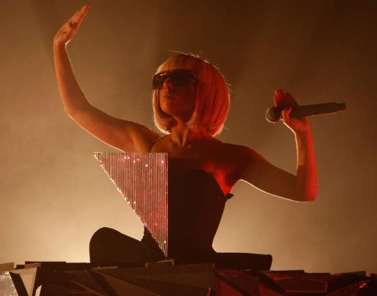 Lady GaGa, shown performing last month in Los Angeles.