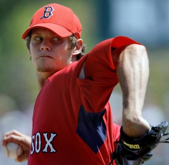 Clay Buchholz accomplished what he wanted to this spring, though he was roughed up a little bit yesterday and will start the season in Pawtucket.
