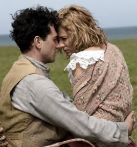 Matthew Rhys and Sienna Miller star in ''The Edge of Love,'' the story of Dylan Thomas during World War II.