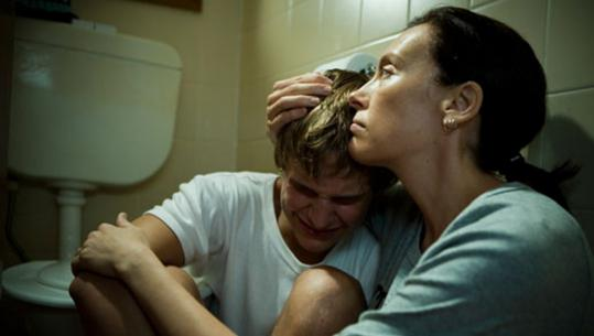 Rhys Wakefield and Toni Collette star in the family drama ''The Black Balloon.''