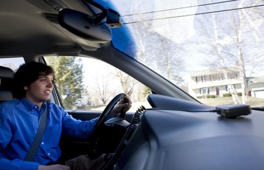 Jonathan Fischer began work on Speed Demon when he was 16, after a Lunenburg teen was killed in a car crash.