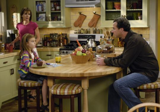 From left: Cynthia Stevenson, G Hannelius, and Bob Saget in ABC's ''Surviving Suburbia.''