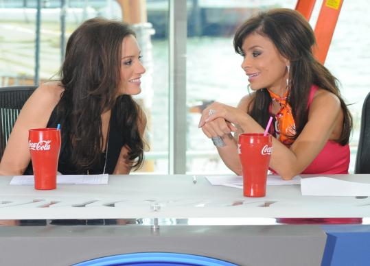 With the addition of Kara DioGuardi (left) to the ''American Idol'' judges panel, Paula Abdul has sharpened her critiques.