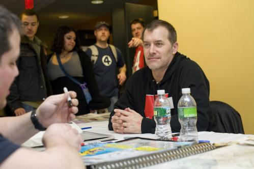 'Madman' creator Mike Allred talked to a fan at Comic Con. More info on the Back Bay Events Center SUBMIT Your nightlife photos! TALK What scene should we visit next?