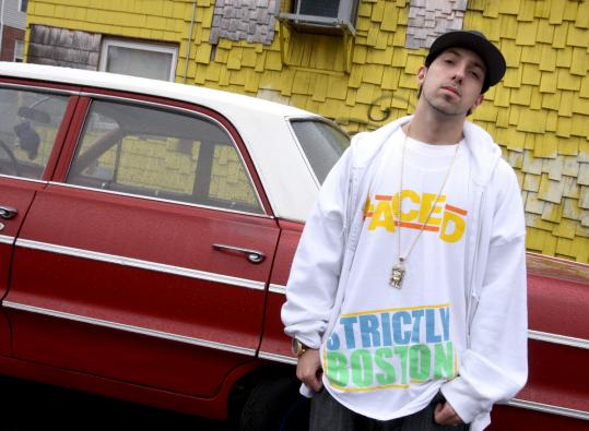 BILL GREENE/GLOBE STAFFTermanology, a.k.a Daniel Carrillo, grew up in awe of the rappers he saw in his Law