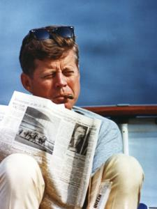 How John F. Kennedy handled crises is a key consideration in the film.