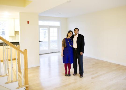 Urrooj Rehman and Syed Hasan wanted ''to snap something up'' and chose this condominium in Mattapan.