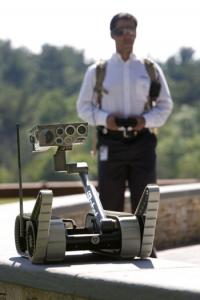 Bedford manufacturer iRobot, which developed the Small Unmanned Ground Vehicle, will probably see more business.