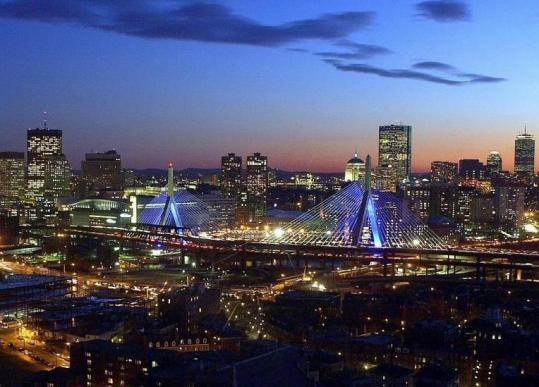 The Massachusetts Turnpike Authority turned off the lights on the Zakim Bridge to save $5,000 a month.