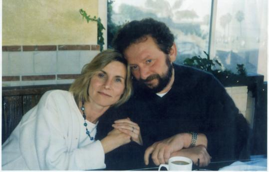 Joseph Helfgot, pictured with his wife, Susan Whitman, died earlier this month, and his face was donated for a transplant at Brigham and Women's Hospital.