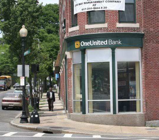 OneUnited Bank got $12 million from the US bank bailout fund.