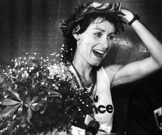 Twenty-five years ago, Lorraine Moller donned the laurel wreath as women's champion of the Boston Marathon. It remains one of the highlights of her career.