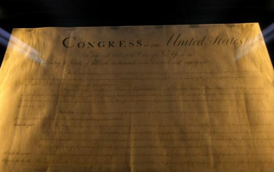 An original copy of the Bill of Rights and other documents at the museum have an estimated value of $100 million.