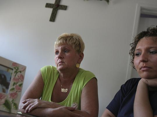 Yvette Barr and her daughter Nina Savignano live in an apartment in Marblehead with a subsidy from the state.