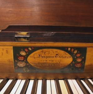 A rare Crehore piano is among the items the Boston Public Library will offer at auction from its extensive special collection.