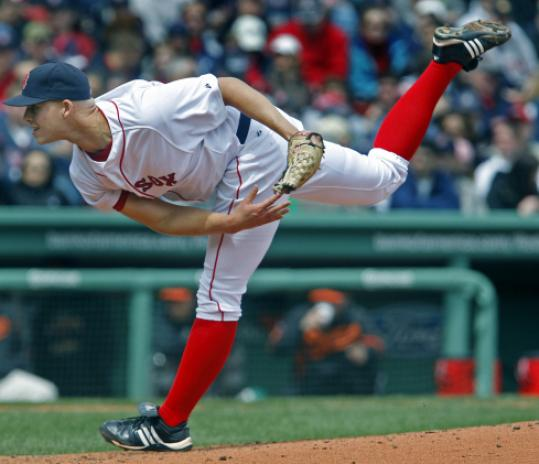 Justin Masterson's versatility is an extension of the Sox' pitching depth. He went 5 1/3 innings in yesterday's start.