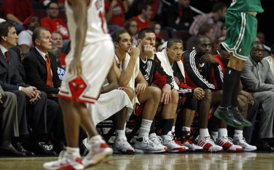 Perhaps pondering their 38 percent shooting and 22 turnovers, the Bulls were a morose bunch.