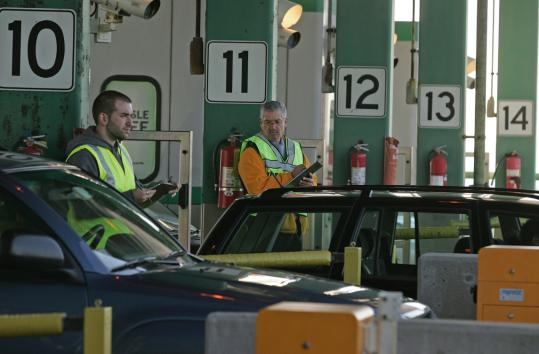 Drivers using the Tobin Bridge who can't pay the $3 toll can expect a $50 fine. Those who had no cash used to be able to send in the toll when they got home, but people abused the honor system.