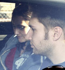 Jonathan Markoff left the Nashua Street Jail on Friday after visiting his brother. He visited him again yesterday.