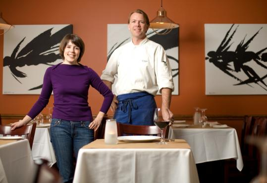 Megan and Chris Parsons, owners of Catch Restaurant in Winchester, say giving extra attention to their longtime customers is more important than ever.