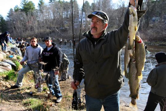Fishing line the boston globe for Farmington river fishing