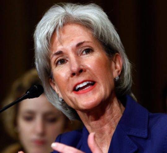 Kathleen Sebelius resigned as governor of Kansas to join President Obama's Cabinet.