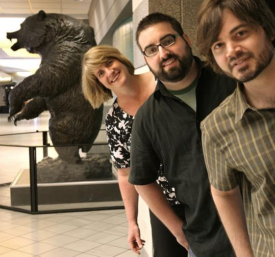 bruins bear ads. Bruins creative team ears up