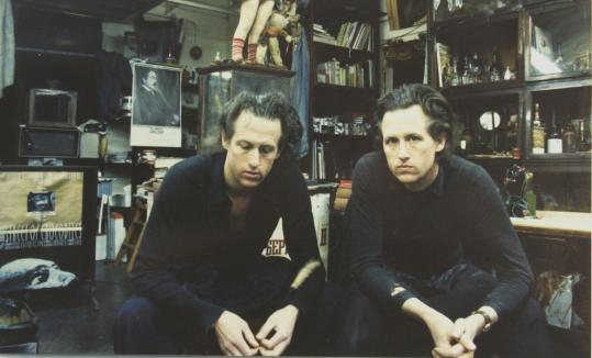 ''What's hidden in the shadows I think appeals to us, what is just on the edge of perception,'' Stephen Quay (left) says of the films he creates with his twin, Timothy. ''You become an accomplice to the unknown,'' Timothy adds.