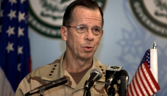 Navy Admiral Mike Mullen said he is 'comfortable' that the nuclear weapons cannot be stolen.