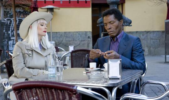 Isaach De Bankolé (with Tilda Swinton) stars as a hired killer named the Lone Man.