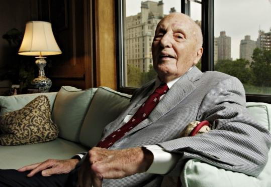 Albert Gordon was the oldest graduate of both Harvard College and Harvard Business School at the time of his death, according to Harvard Magazine.