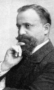 Grigoris Balakian, top, as a theology student in Berlin in 1914.