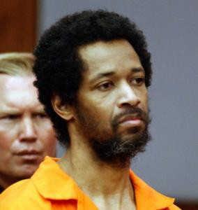 John Allen Muhammad was sentenced to death in 2004 in Virginia for one of the 10 sniper rampage slayings.