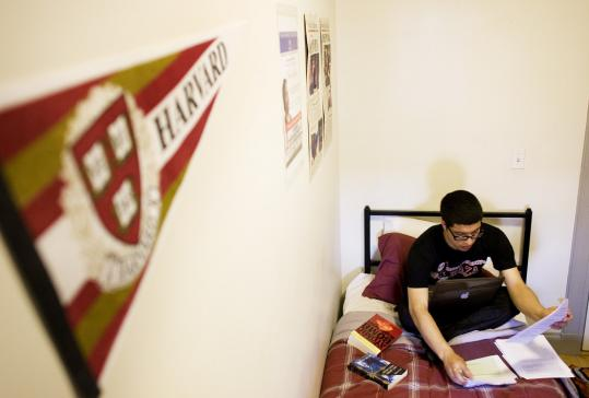 While fine intellectually, Miguel Garcia felt he didn't fit in among wealthy classmates.