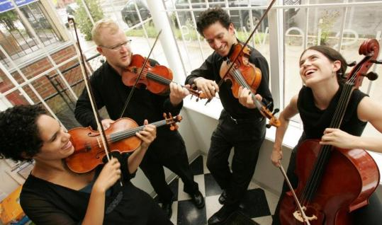 The Providence String Quartet will premiere ''Earned,'' a piece for double string quartet and narrator by composer Anthony Green (below), in Providence tonight and Boston tomorrow.