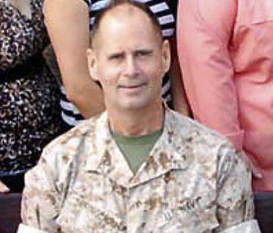 Navy Commander Charles Keith Springle was one of five US military personnel killed in a shooting Monday in Iraq.