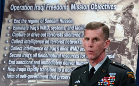 Lieutenant General Stanley McChrystal's demonstrated drive and intellect, and his abilities in team-building and problem-solving, have won him many admirers.