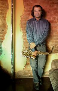 Rudresh Mahanthappa will bring his Indo-Pak Coalition to the Newport jazz festival - known this year as George Wein's Jazz Festival 55 - in August.