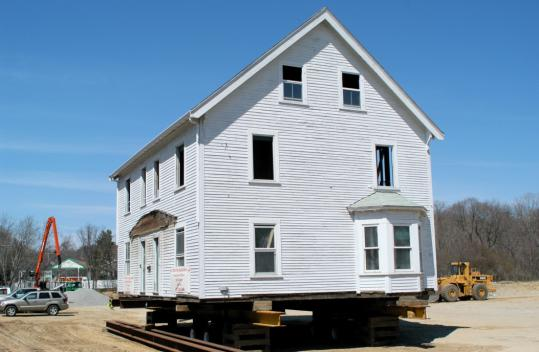 The historic Henry Grover House will become town houses at Graystone at Winchester.